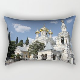 Alexander - Newski - Church - Yalta Rectangular Pillow
