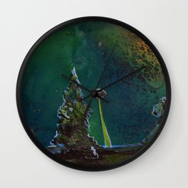 UFO Painting - Searchling -  Wall Clock