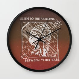Mind Patternz Wall Clock