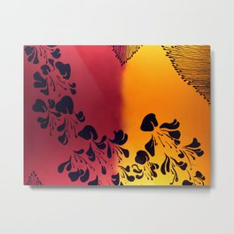 The Flower of our Discontent Metal Print