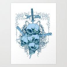 Katanas Art Print