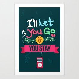 IF I STAY: I'll Let You Go Art Print