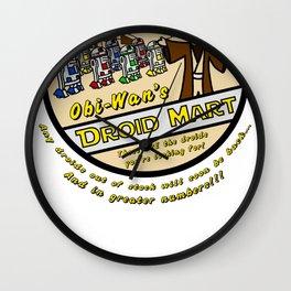 Obi-Wan's Droid Mart Wall Clock
