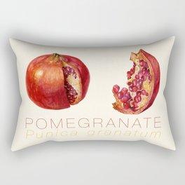 Pomegranate, Punica granatum Rectangular Pillow