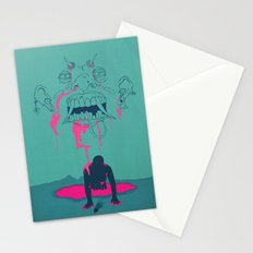 I. From the Ether, Beholden to the One Handed Man Stationery Cards