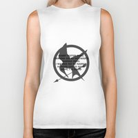 narnia Biker Tanks featuring Hunger Games by Rothko