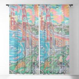 San Francisco Joe Sheer Curtain