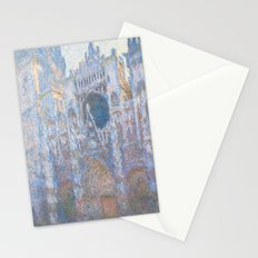 Claude Monet, Rouen Cathedral, West Facade 1894 Stationery Cards