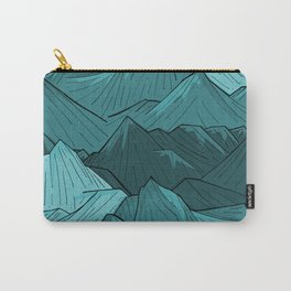 The Turquoise Mounts Carry-All Pouch