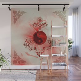 Ying und Yang, decortatives design Wall Mural