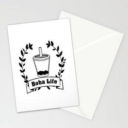 Boba Life Stationery Cards
