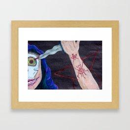 The Occultist Framed Art Print