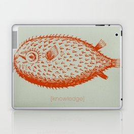 knowledge puffs up Laptop & iPad Skin