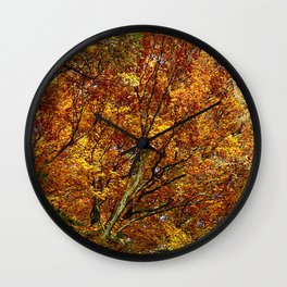 FireFall Wall Clock