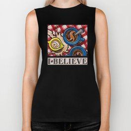 I.Believe|Coffee Biker Tank