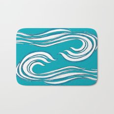 waves mother ocean Bath Mat