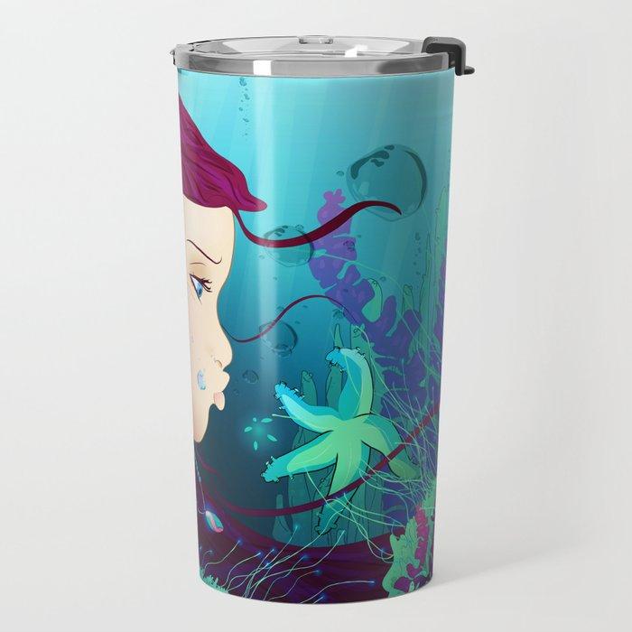 Underwater life Travel Mug
