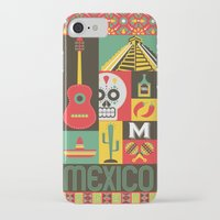 mexico iPhone & iPod Cases featuring Mexico by Victor Anaya