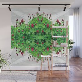 Strawberry Patch Wall Mural