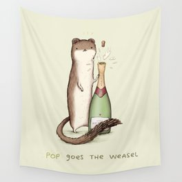 Pop Goes the Weasel Wall Tapestry