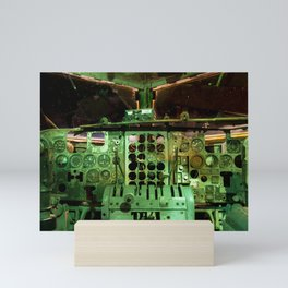 C123 COCKPIT EL AVION BAR, COSTA RICA Mini Art Print