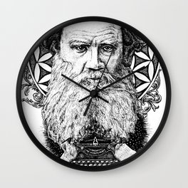 Tolstoy Wall Clock
