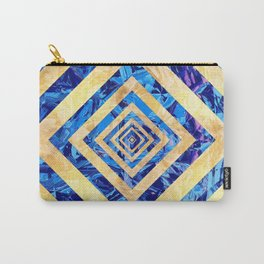 Abstract Crystals Pattern Carry-All Pouch