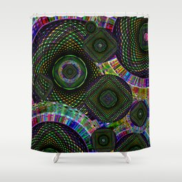 Spiral Multi Shower Curtain