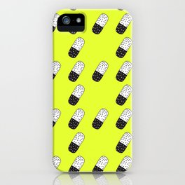 Take a neon pill iPhone Case