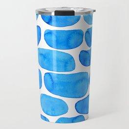 Watercolour abstract Travel Mug