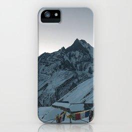 Sunrise at Annapurna Base Camp iPhone Case
