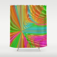Abstract 359 a dynamic fractal Shower Curtain