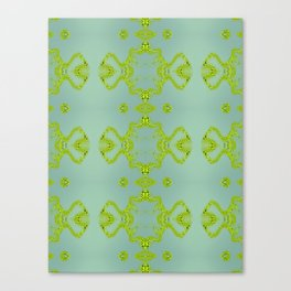 Yellow lace Canvas Print