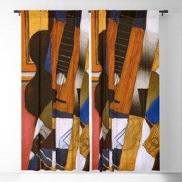"""Juan Gris """"Guitar and Pipe""""(light) Blackout Curtain"""