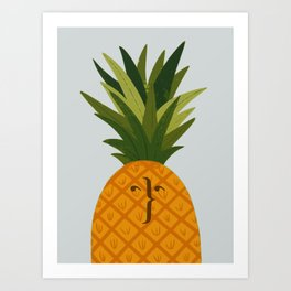 Not your typical pineapple Art Print