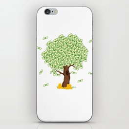 "Cute and inspiring best for luck ""Money Growing"" tee design. Makes an awesome gift to your friends!  iPhone Skin"