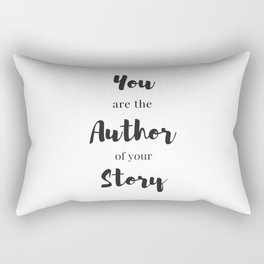 You are the author of your story Rectangular Pillow