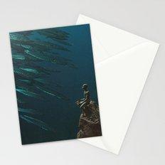 Underwater Moonlight Stationery Cards