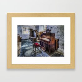 Olde Church Organ Framed Art Print