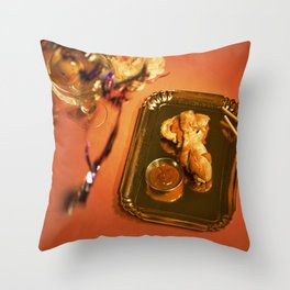 Eat More Chicken Throw Pillow
