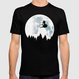 The Moon on Dragon Ball T-shirt