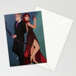 A Couple of Master Assassins Stationery Cards