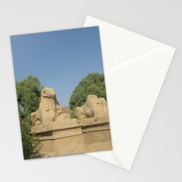 The Avenue of Sphinxes Stationery Cards