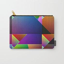 Rainbow Pyramids Carry-All Pouch