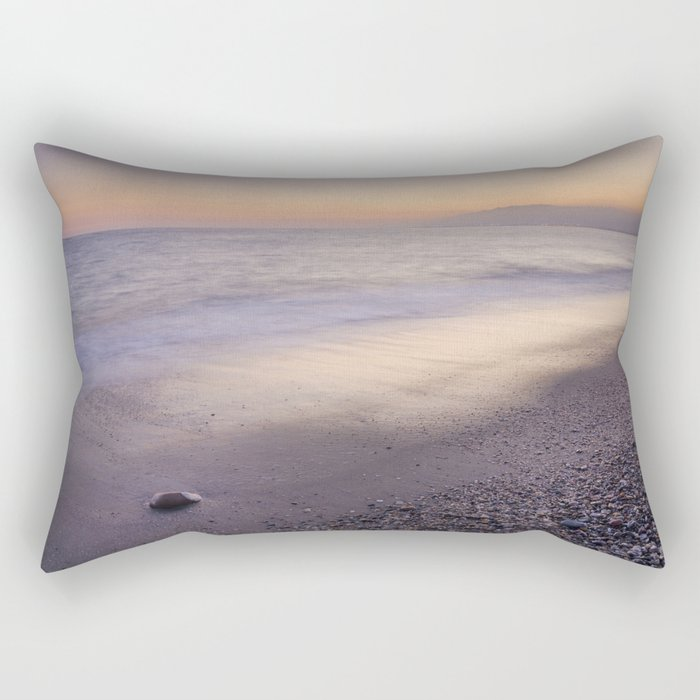 """""""Amoladeras beach"""" Rectangular Pillow"""