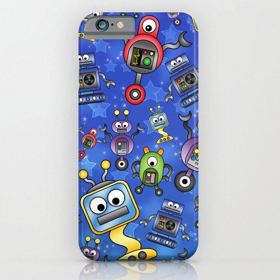 Little Robots  iPhone & iPod Case