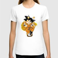 goku T-shirts featuring Goku by Ana del Valle Store