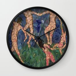 The Vegetarian Dance Fine Art Parody Wall Clock