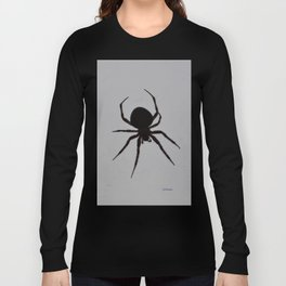 Orb Weaver Silhouette Long Sleeve T-shirt