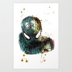 UNREAL PARTY 2012 THE AMAZING SPIDEY SPIDERMAN Art Print